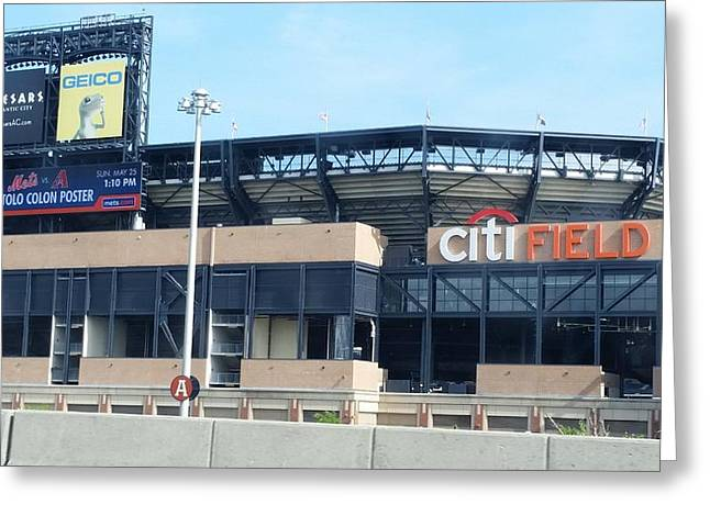 Shea Stadium Greeting Cards - CitiBank Field Greeting Card by Scott Decker