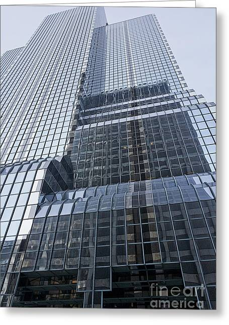 Citicorp Chicago Greeting Card by David Bearden