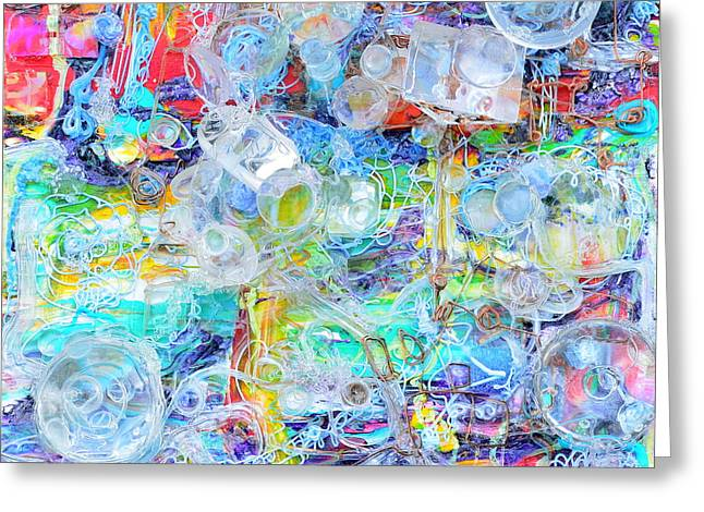 Decorate Sculptures Greeting Cards - Cities of the future Greeting Card by Regina Valluzzi