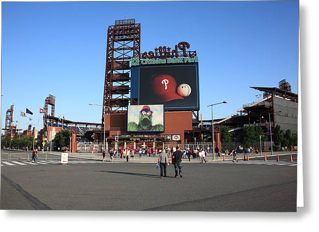 Citizens Bank Park - Philadelphia Phillies Greeting Card by Frank Romeo