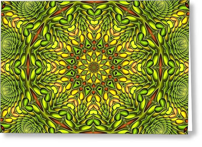 Tangy Digital Art Greeting Cards - Citrus K12-33 Greeting Card by Doug Morgan