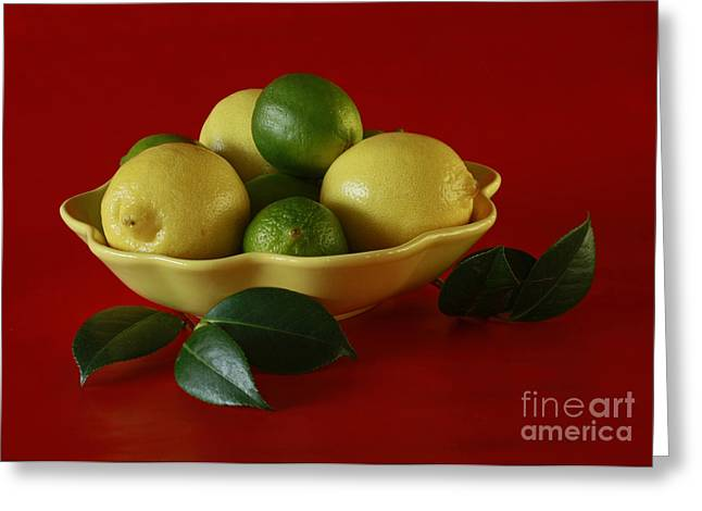 Citrus Passion Greeting Card by Inspired Nature Photography Fine Art Photography