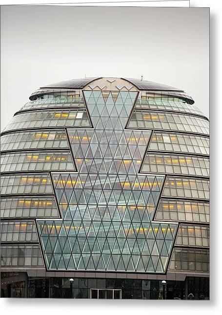 City Hall At More London Greeting Card by Ashley Cooper