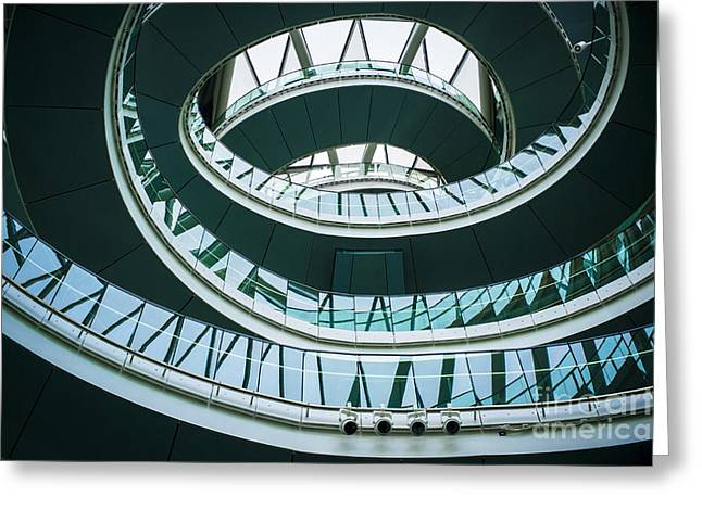 City Hall Digital Art Greeting Cards - City Hall London Greeting Card by Donald Davis