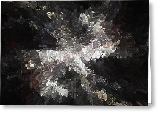 Dream Scape Greeting Cards - City Lights Greeting Card by Sir Josef  Putsche