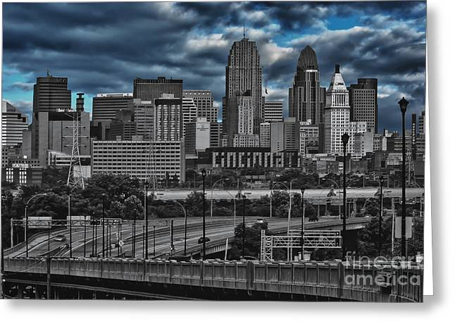 City Of Color Greeting Card by Steve Johnson