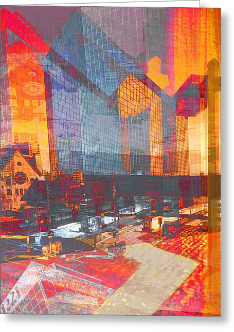Minnesota Photo Greeting Cards - City of Color Greeting Card by Susan Stone