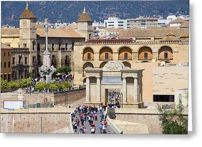 Citizens Greeting Cards - City of Cordoba in Spain Greeting Card by Artur Bogacki