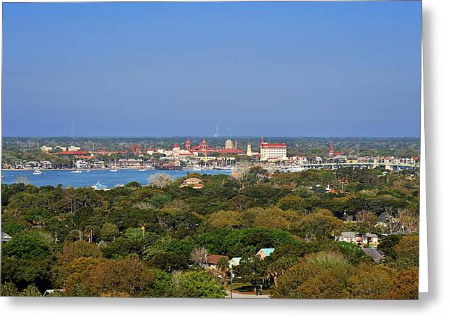 Union Greeting Cards - City of St Augustine Florida Greeting Card by Christine Till