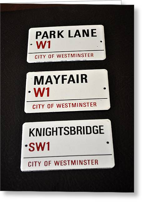 Knightsbridge Greeting Cards - City Of Westminster Greeting Card by Jay Milo