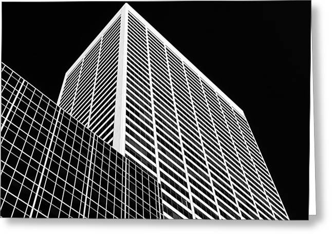 Impacting Photographs Greeting Cards - City Relief Greeting Card by Dave Bowman