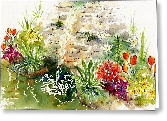 Sienna Greeting Cards - Civic Conservatory Greeting Card by Pat Katz