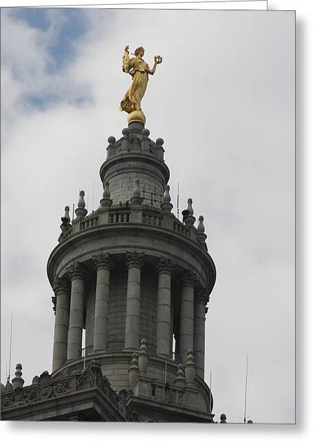 Civic Fame - Victory And Triumph Greeting Card by Vadim Levin