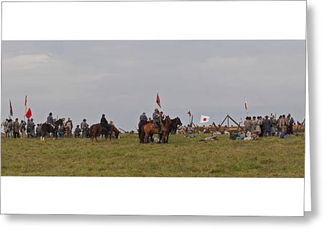 Confederate Flag Greeting Cards - Civil War 150th Anniversary Greeting Card by Jonathan E Whichard