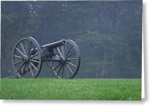Re-enact Greeting Cards - Civil War Cannon 3 Greeting Card by John Brueske