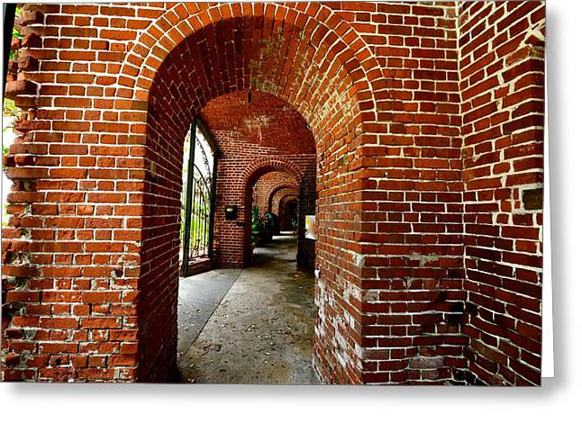 Caribbean Corner Greeting Cards - Civil War Fort in Key West Greeting Card by Rachel Cash