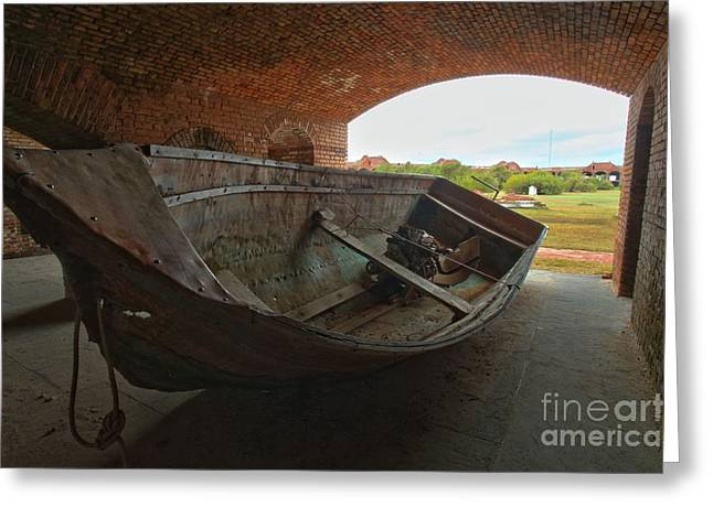 Dry Tortugas National Park Greeting Cards - Civil War Vet Greeting Card by Adam Jewell