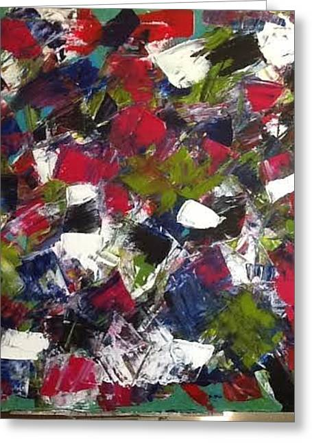 Abstract Movement Greeting Cards - Clafoutis Greeting Card by Diane Cinq-Mars