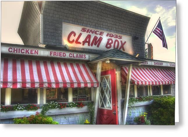 Clam Box Restaurant - Ipswich MA Greeting Card by Joann Vitali