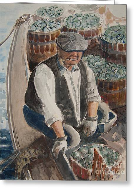 Clammer 2 Greeting Card by Anthony Coulson