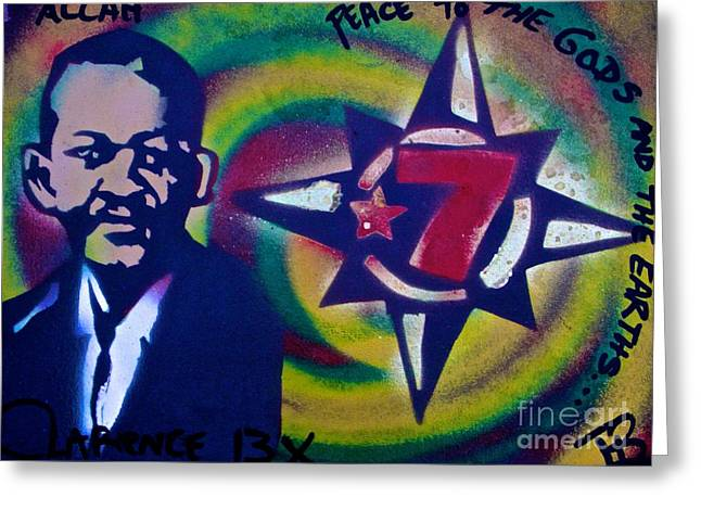 Free Speech Greeting Cards - Clarence 13x Greeting Card by Tony B Conscious