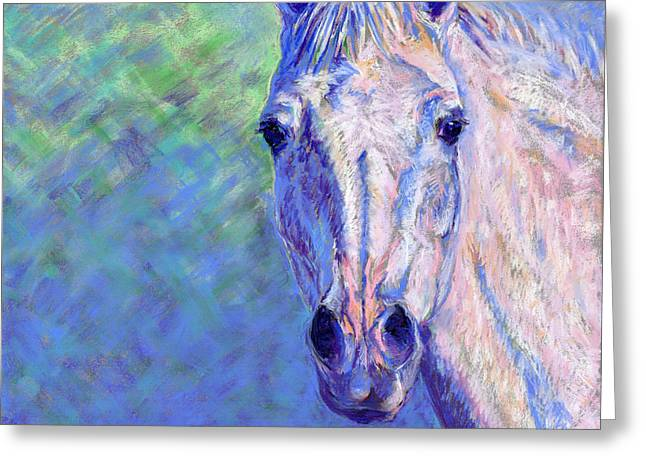 Michelle Pastels Greeting Cards - Clarity Greeting Card by Michelle Bostock