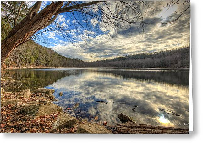 Clark Greeting Cards - Clark Reservation Greeting Card by Everet Regal