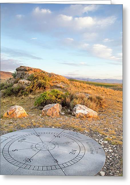 Clarks Lookout State Park In Dillon Greeting Card by Chuck Haney