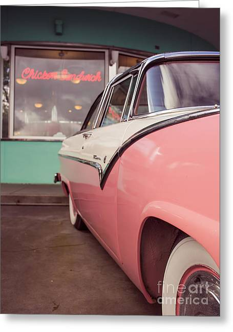Timer Greeting Cards - American Graffiti  Greeting Card by Edward Fielding