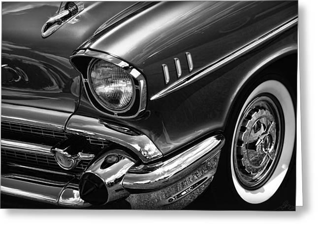Classic '57 Chevy Greeting Card by Gordon Dean II