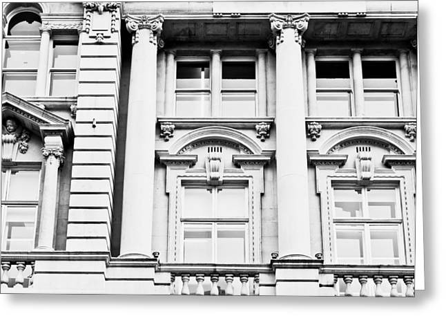 Classical Columns Greeting Cards - Classic architecture Greeting Card by Tom Gowanlock