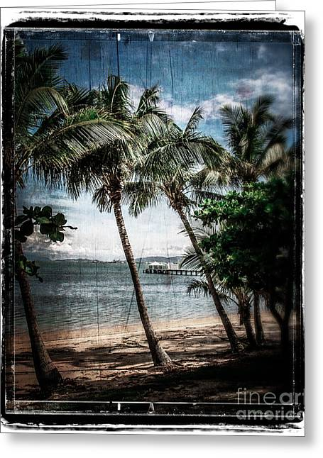 Ocean Photography Digital Art Greeting Cards - Classic Beach Greeting Card by Perry Webster