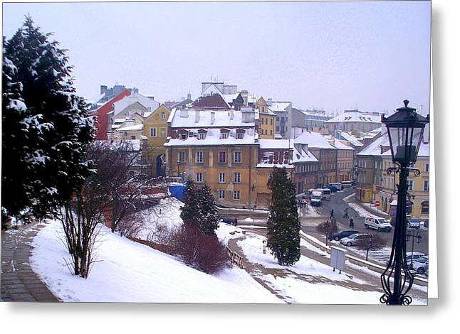 Classic Beauty Lublin Poland  Greeting Card by Rick Todaro