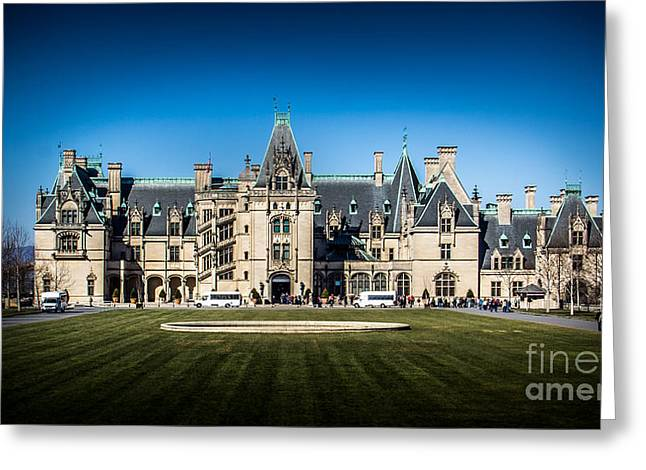 French Renaissance Greeting Cards - Classic Biltmore Greeting Card by Perry Webster