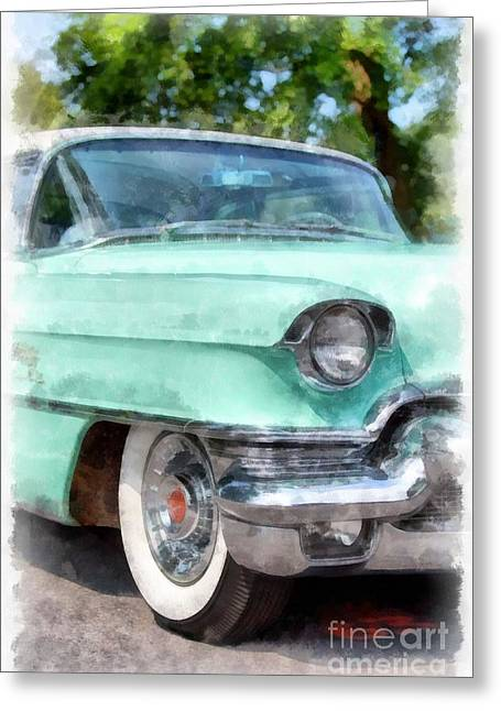 Caddy Greeting Cards - Classic Caddy Greeting Card by Edward Fielding