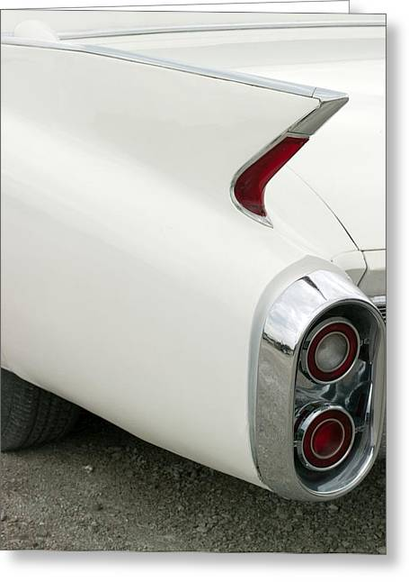 Highsmith Greeting Cards - Classic Cadillac Fin Car Greeting Card by Carol Highsmith