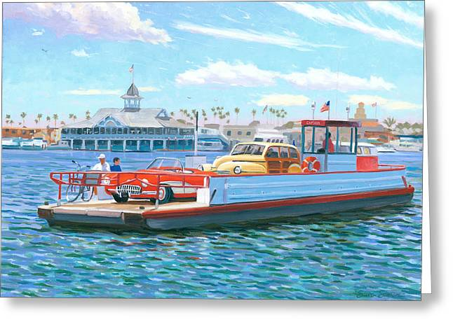 Balboa Greeting Cards - Classic California Greeting Card by Steve Simon