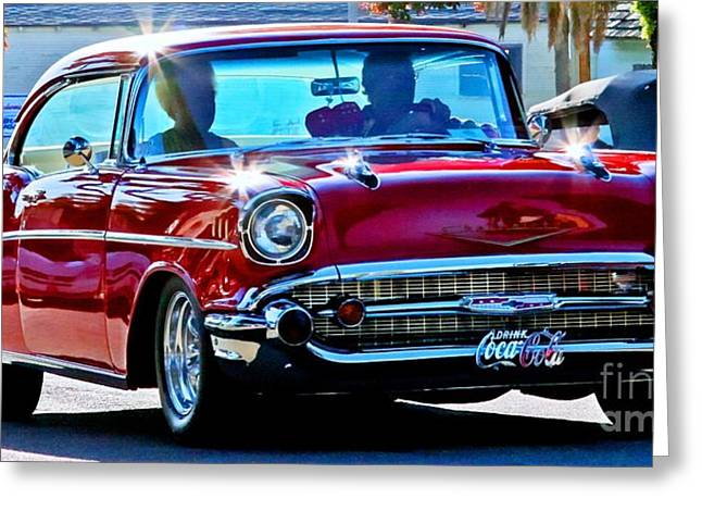 Tap On Photo Greeting Cards - Classic Chevrolet Greeting Card by Tap  On Photo