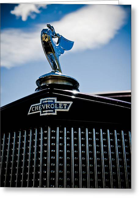 Aotearoa Greeting Cards - Classic Chevrolet Greeting Card by Phil