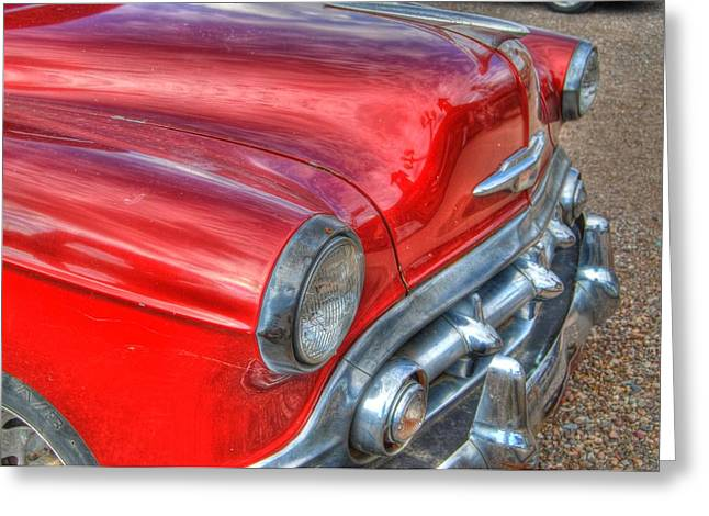 Classic Chevy Greeting Card by Tam Ryan
