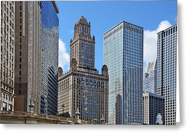 Film Greeting Cards - Classic Chicago -  The Jewelers Building Greeting Card by Christine Till