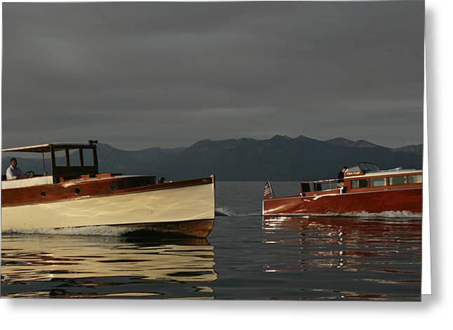 Classic Cruisers Greeting Card by Steven Lapkin