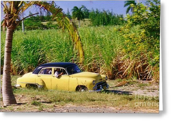 Halifax Photographers Greeting Cards - Classic Cuba Greeting Card by Halifax Photographer John Malone