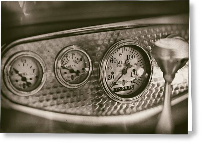 Automobile Greeting Cards - Classic Dashboard Greeting Card by Russ Dixon