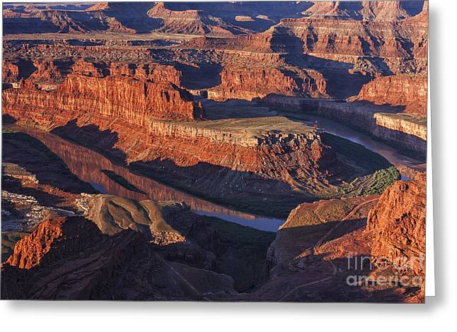Dead Horse Point Greeting Cards - Classic Dead Horse Point Sunrise Greeting Card by Mark Kiver