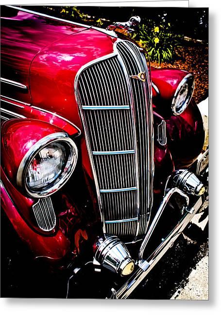 Joann Copeland-paul Greeting Cards - Classic Dodge Brothers Sedan Greeting Card by Joann Copeland-Paul