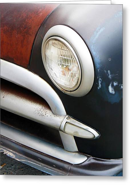 Project Type Greeting Cards - Classic Ford Project Car Greeting Card by Pamela Patch