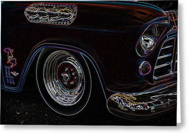 1949 Plymouth Greeting Cards - Classic Glow Greeting Card by Steve McKinzie