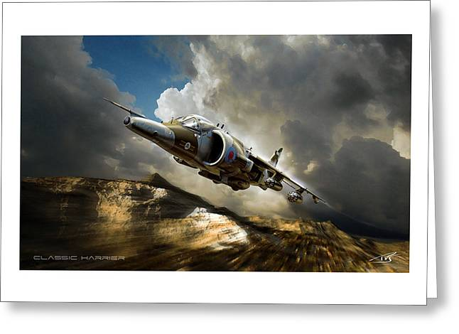 Iraq Prints Greeting Cards - Classic Harrier Greeting Card by Peter Van Stigt