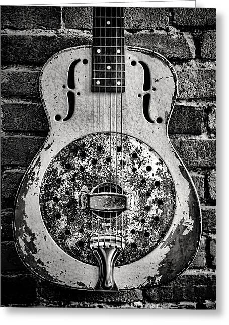 Resonator Greeting Cards - Classic in Black and White Greeting Card by Heather Applegate